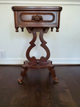 Davis Cabinet Company Lyre End Table/ Night Stand in Sugar Land, Texas