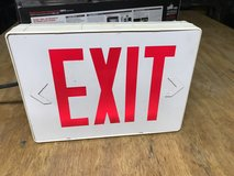"LED ""EXIT"" Sign With Battery Backup in Camp Lejeune, North Carolina"