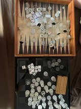 Glass Chess, Checkers, Backgammon and Craps in Travis AFB, California