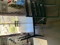 Espresso custom solid wood 94 inch dining table in Camp Pendleton, California