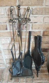 Fireplace Utensil Set with Stand in Batavia, Illinois