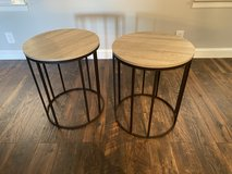 Gray and Black Metal Side Tables in Warner Robins, Georgia