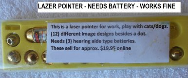 Lazer Pointer To Play With Dogs/Cats in Alamogordo, New Mexico