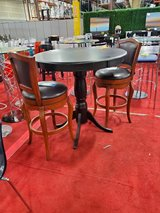 Bar Table with Two Swivel Stools in Fort Meade, Maryland