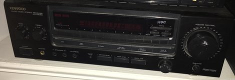 Kenwood KR-V6080 AV/Stereo/Dolby/Phono And AM/FM Receiver Tested in Beaufort, South Carolina