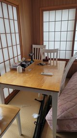 dinning table in Okinawa, Japan