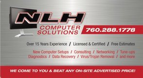 Computer Repair WE COME TO YOU in Yucca Valley, California