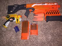 Nerf elite pack of guns in Camp Pendleton, California