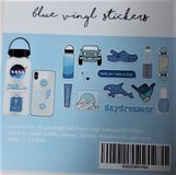 Blue Vinyl Stickers - 12 packages in Fairfield, California