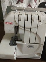 Janome Serger Sewing Machine in Cherry Point, North Carolina