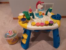 Play-Doh table  with ice cream maker set and accessories in Naperville, Illinois