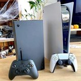 both xbox series x and PS5 for sale in Pasadena, Texas