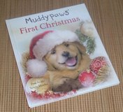 Muddy Paws First Christmas Over Sized Hard Cover Book in Chicago, Illinois