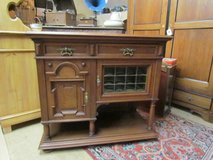 Chest of drawers oak Wilhelminian style half cabinet sideboard in Ramstein, Germany