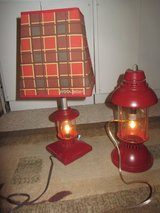 lot 2-Woolrich kids Camping Decor lantern lamps in Fort Bliss, Texas
