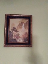 Nice waterfall oil painting in St. Charles, Illinois