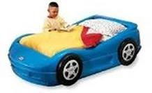 Racecar bed with mattress in Warner Robins, Georgia