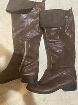 Leather size eight riding Nine West boots in Okinawa, Japan