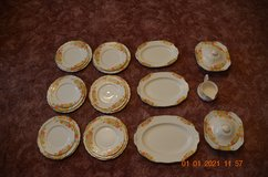 Alfred Meakin 1930 dinner service Nasturtium pattern in Lakenheath, UK