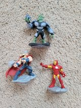 3 Avengers Figures in Camp Lejeune, North Carolina