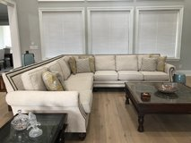 Large sectional sofa- like new in The Woodlands, Texas