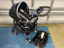 Extremely Nice Car Seat Stroller Combo in Camp Lejeune, North Carolina