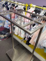 Commercial industrial clothing rack x2 in Sandwich, Illinois
