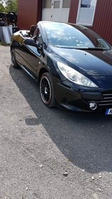 Fantastic 2006 Peugeot 307 cc Convertible Hard Top One Owner in Ramstein, Germany