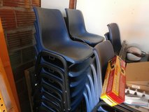 POLY SHELL STACKABLE AND CONNECTABLE OFFICE CHAIRS, LOWERED PRICE! in Alamogordo, New Mexico