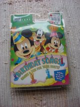 DISNEY BIRTHDAY SONGS & GAMES CASSETTE TAPE in Bartlett, Illinois