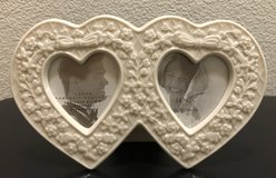 New Lenox Double Heart Shaped Frame 2 1/2 x 3 in Fort Campbell, Kentucky