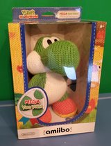 MEGA YARN YOSHI AMIIBO. MINT IN BOX. IST EDITION. TOYS R US EXCLUSIVE. NEVER OPENED RARE COLLECT... in Oswego, Illinois