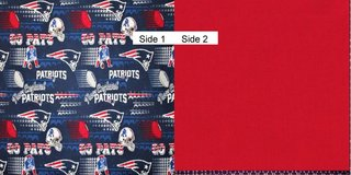 Face Masks 100% Cotton Reversible Washable with Nose Wire - New England Patriots in Camp Lejeune, North Carolina