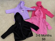 Girls 3-6 month jackets in Beaufort, South Carolina
