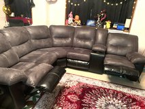 2 piece Sectional Reclining Couch Sofa in Okinawa, Japan