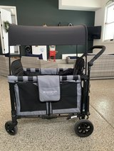 WonderFold Wagon push stroller wagon W2 with upgraded magnetic harness in Westmont, Illinois