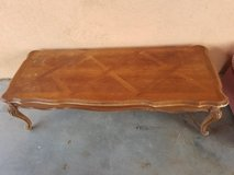 Wood Coffee Table in 29 Palms, California