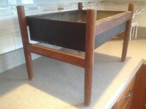 Antique Oak and Metal Stand in Bartlett, Illinois