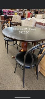 Table and 2 chairs in Fort Leonard Wood, Missouri