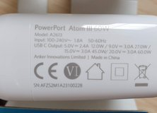 Anker Travel Charger (EU plug) shipping free must have USPS address in Wiesbaden, GE