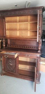Old cabinet in Fairfield, California