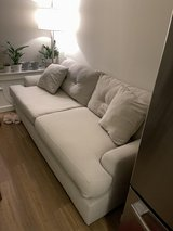 Cream Couch Great Condition in Fort Belvoir, Virginia