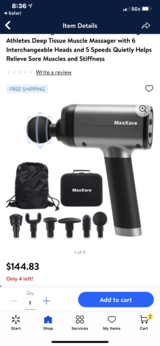 NIB***Max Care Massage Gun With Percussion in Kingwood, Texas
