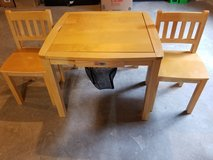 Children Wood Table and Chairs in Plainfield, Illinois