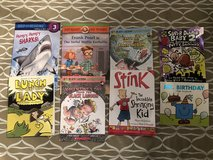 Lot of 8 kids chapter books in Fairfield, California