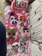Girls LOL Sleeping Bag and Pillow in Naperville, Illinois