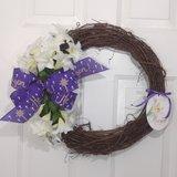 Easter Grapevine Wreath He is Risen in Camp Lejeune, North Carolina