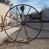 Metal Wheels in Yucca Valley, California