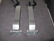 2 DELL COMPRUTER DESK MOUNTS. in Okinawa, Japan