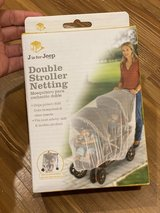 Double stroller mosquito net in Okinawa, Japan